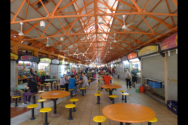 Photo of Maxwell Hawker Centre. Courtesy of Marshall Penafort.