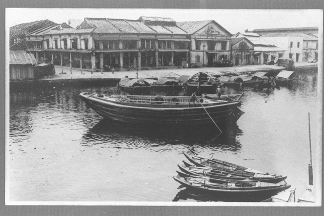 Robertson Quay in the past