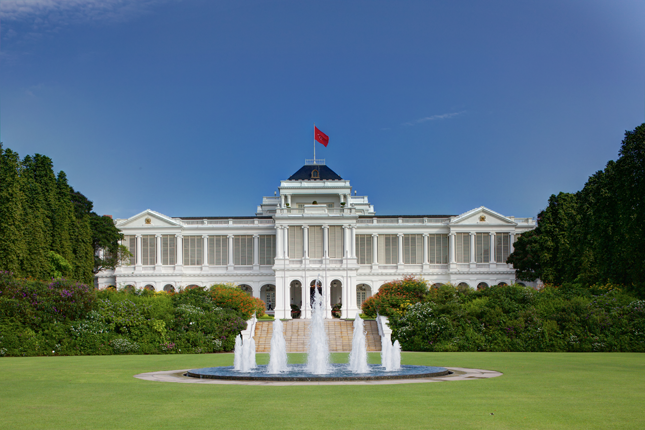 The Istana and Sri Temasek