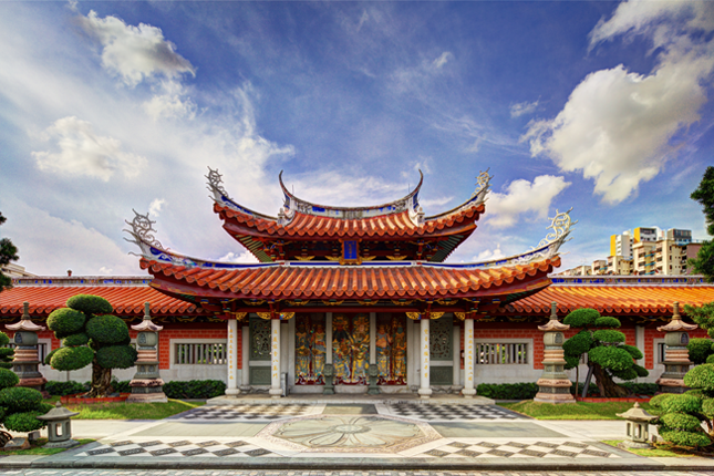 Former Siong Lim Temple (now Lian Shan Shuang Lin Monastery)