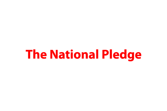 National Pledge