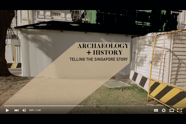 History+Archaeology: Archaeology in Singapore
