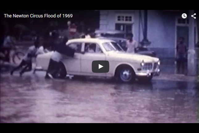 Blast from the Past - The Newton Circus Flood of 1969