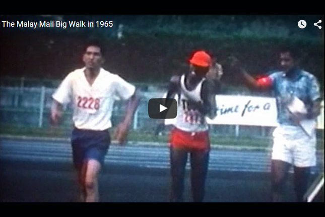 Blast from the Past - The Malay Mail Big Walk in 1965
