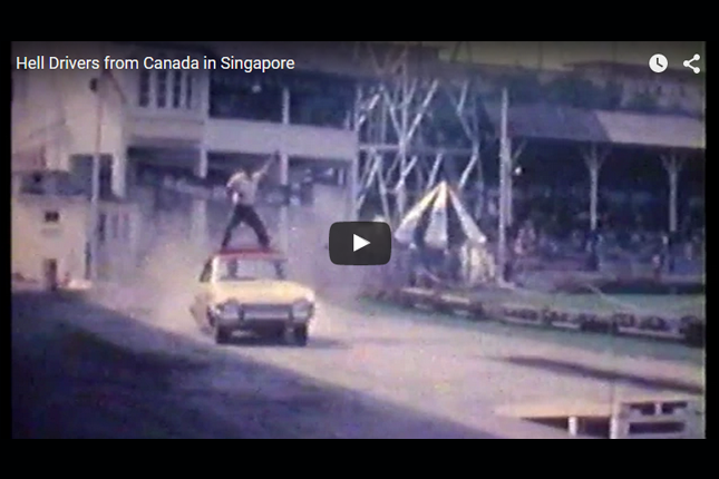 Blast from the Past - Hell Drivers from Canada in Singapore