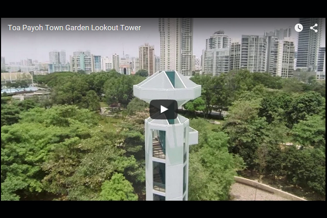 Eye in the Sky - Toa Payoh Town Garden Lookout Tower