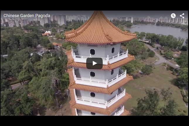 Eye in the Sky - Chinese Garden Pagoda