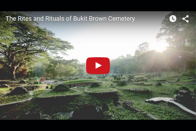 The Rites and Rituals of Bukit Brown Cemetery