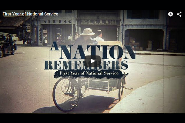 A Nation Remembers - First Year of National Service