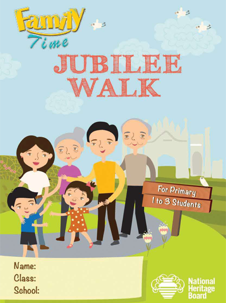 Family Time Jubilee Walk Worksheet